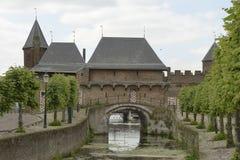 Koppelpoort in city of Amersfoort stock image