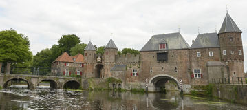 Koppelpoort in city of Amersfoort royalty free stock photography