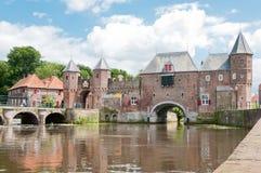 Koppelpoort en Amersfoort Imagen de archivo