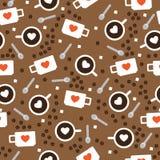 Koppen met koffie Royalty-vrije Stock Fotografie