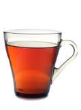 Koppen met thee op wit Royalty-vrije Stock Afbeeldingen