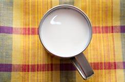 koppen mjölkar Royaltyfria Bilder
