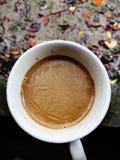 koppen mjölkar tea Royaltyfri Fotografi