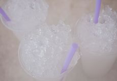 Koppen van ijs Royalty-vrije Stock Foto