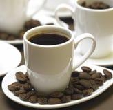 Koppen van koffie Royalty-vrije Stock Foto's
