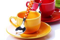 Koppen van koffie Royalty-vrije Stock Afbeeldingen