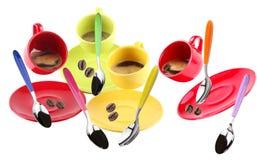 Koppen van koffie Stock Afbeelding