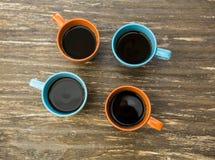 Koppen van koffie Royalty-vrije Stock Afbeelding