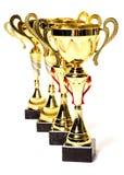 Koppen van winnaar Stock Foto