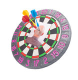 Koppensneller - zaken concepts.darts Royalty-vrije Stock Foto