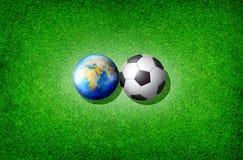 koppfotbollvärld Royaltyfria Foton