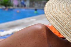 koppla av för strand Royaltyfria Foton