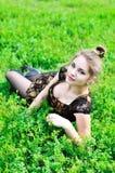 koppla av fjädern Royaltyfria Foton
