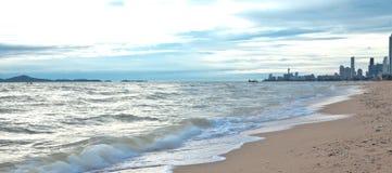 koppla av havet Arkivfoton