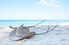 Koppla av på stranden Arkivbilder