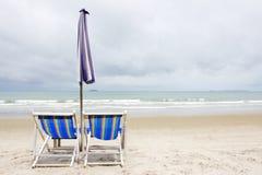 Koppla av på stranden Royaltyfri Bild