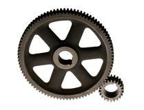 koppla för kugghjul ihop Fotografering för Bildbyråer