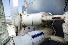 Industriellt bevattna termometern Arkivfoton