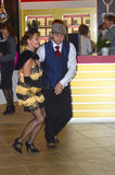 Koppla ihop dansen i Moskva 2014 för dansen JUNWEX Royaltyfria Bilder