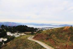Koppla samman maxima i San Francisco, CA Arkivfoto