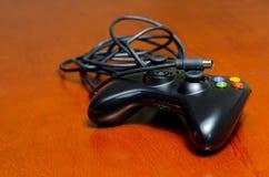 Kopplad från videospelkontrollant Arkivbilder