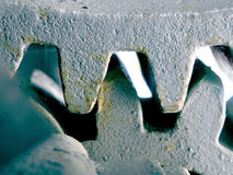kopplande ihop tänder för kugghjul arkivfoton