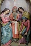 Koppling av den jungfruliga Maryen Arkivbilder