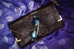 Koppling och solglasögon Royaltyfri Bild