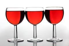 kopprött vin Arkivbilder