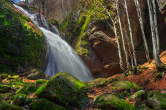 Koprenski waterfalls - fall Voden skok / Water jump/ , Bulgaria Royalty Free Stock Image