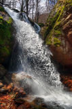 Koprenski waterfalls - fall Voden skok / Water jump/ , Bulgaria Royalty Free Stock Photo