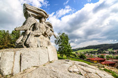 Koprivshtchitsa monument Royalty Free Stock Photography