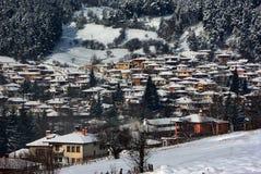 Koprivshtica en hiver Image stock