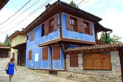 Koprivshtitsa街道视图保加利亚 免版税库存照片