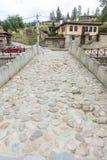 Koprivshtitsa: stone bridge over the river Topolitsa, Bulgaria Stock Image