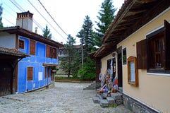 Koprivshtitsa street view Royalty Free Stock Photography