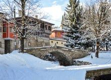 Koprivstitsa en invierno Foto de archivo