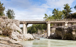 Kopru River Royalty Free Stock Photography