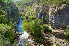 Koprulu Canyon national park, Turkey Royalty Free Stock Photo