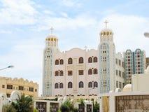 Koptyjski Ortodoksalny monaster Obrazy Stock