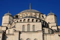 kopuła błękitny meczet Obraz Royalty Free
