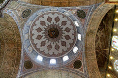 kopuła błękitny meczet Fotografia Stock