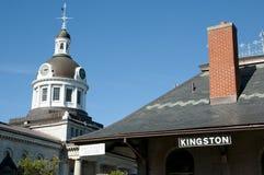 Kopuła Hall miasteczko Kingston, Kanada - zdjęcia royalty free