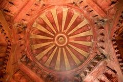 Kopuła Jahangir pałac w Czerwonym forcie Agra Zdjęcie Royalty Free