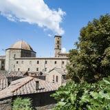 Kopuła katedra Volterra fotografia royalty free