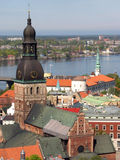 kopuła katedralna Riga Obraz Royalty Free