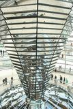 Kopuła niemiec Bundestag zdjęcia stock