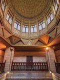 Kopuła Nilometer budynek, antyczny egipcjanin wody pomiaru przyrząd datuje od 715 reklamy, Rhoda wyspa, Rzeczny Nil, Kair, Egipt Zdjęcia Stock
