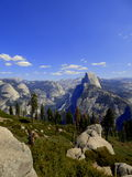 kopuła pół park narodowy Yosemite obrazy stock