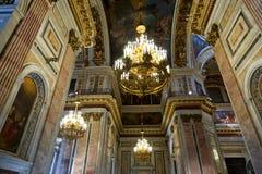 Kopuła St Isaacs katedra przeglądać od dna Fotografia Stock